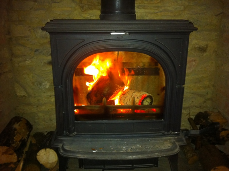 how to clean a wood burning stove screen howtoi